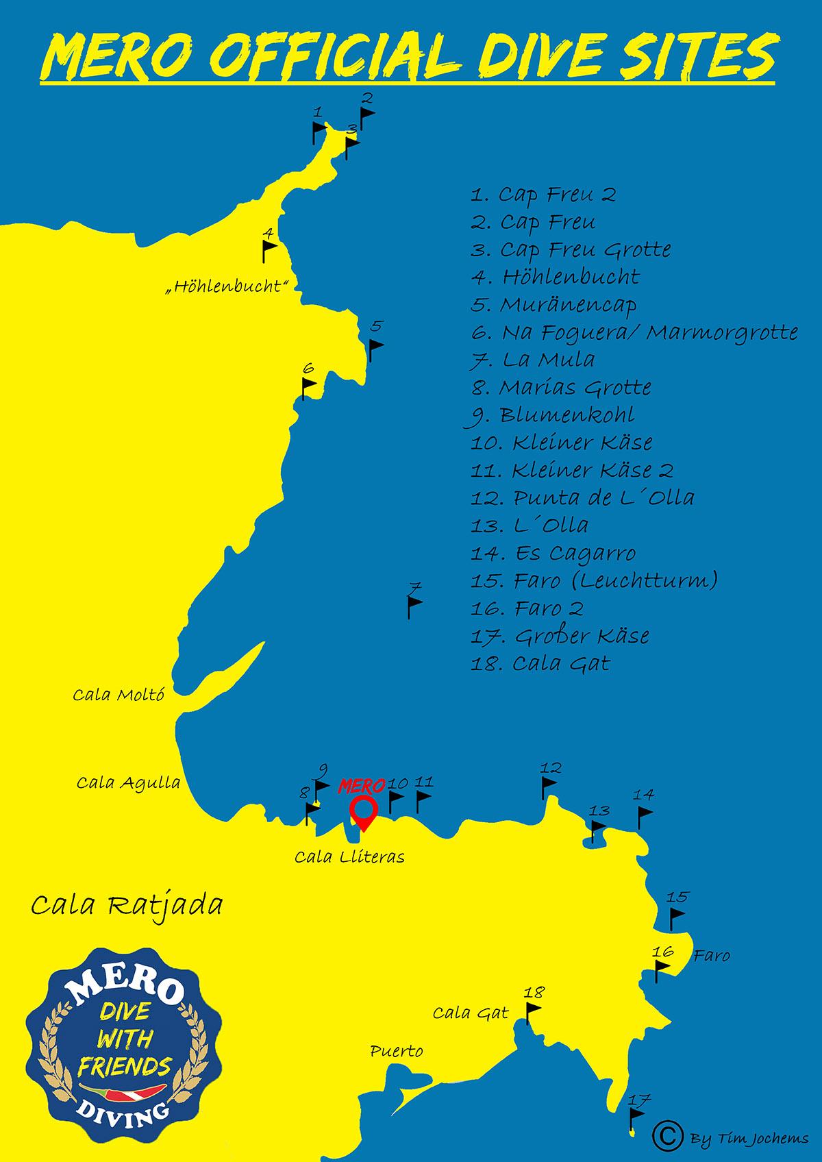 Tauchplätze Mallorca