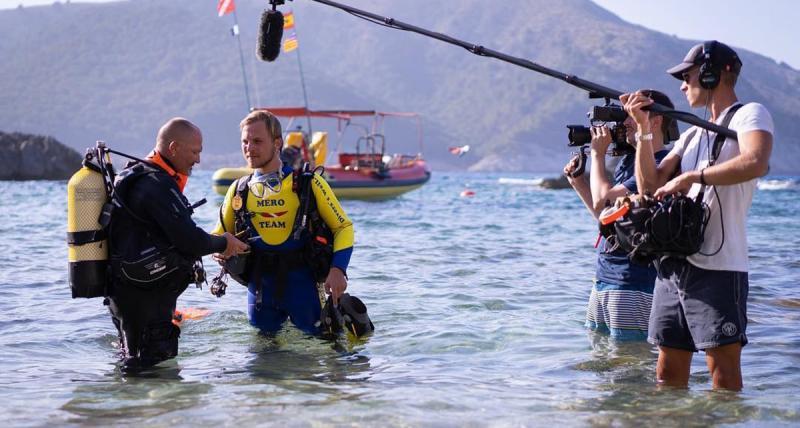 Presse Mero Diving