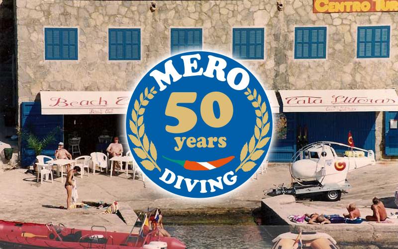 50 Jahre Mero Diving